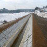 床舞地区農業水利施設支援工事