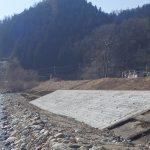 河川災害復旧工事(役内川左岸)